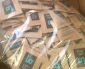 20 Large 60 Gram Sealed Bags Boveda 62% RH 2-Way Humidity Control