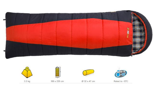 OZTRAIL ALPINE VIEW MEGA -12 C. Sleeping Bag 100x235cm