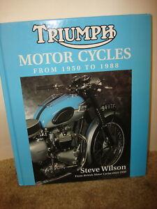 Triumph Motorcycles 1950 To 1988 British Motorcycles From 1950 Hardbound Ebay