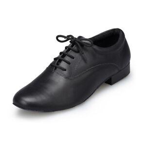 Men Prom Party Ballroom Latin Tango Modern Salsa Dance Heels Shoes Leather 39-45