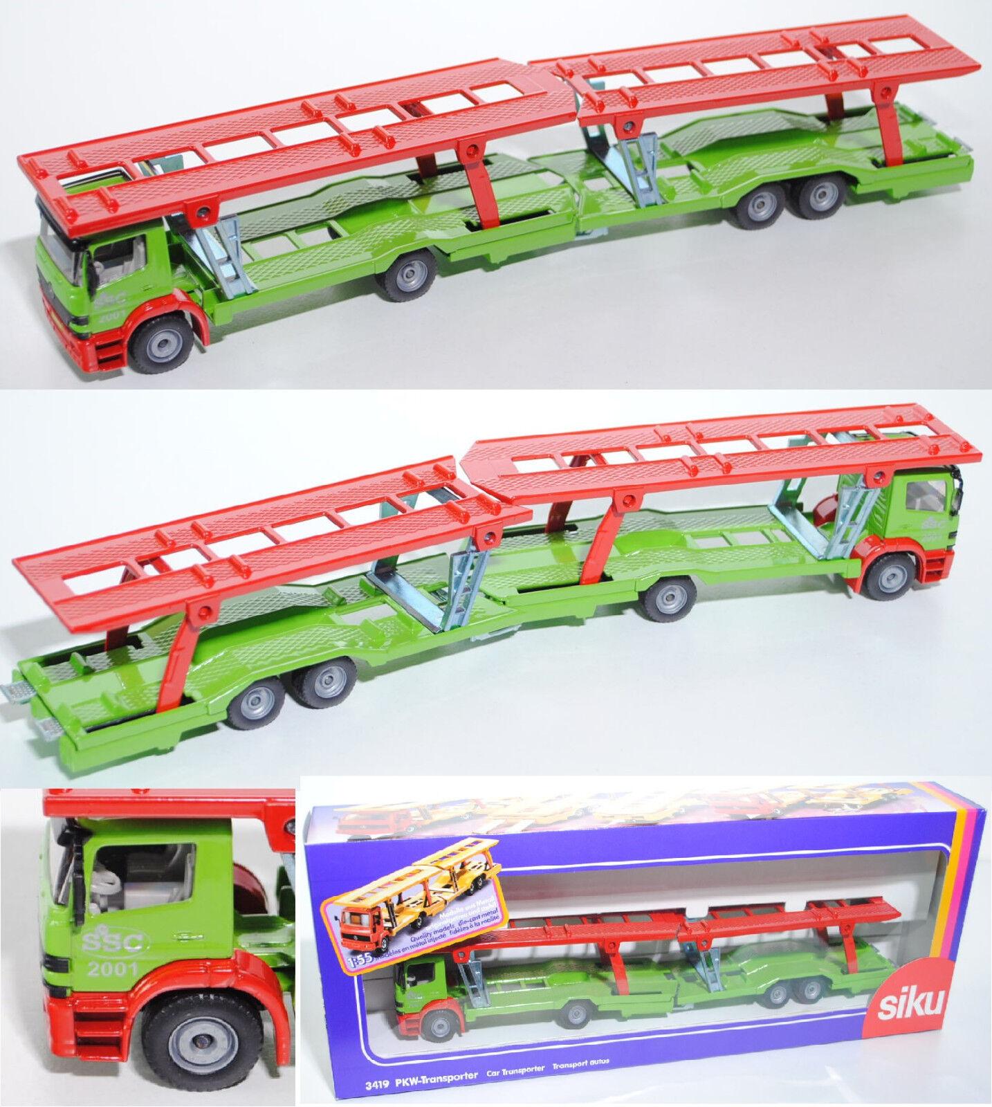 Siku súper 3419 mercedes Atego turismos-Transporter, SSC colección, aprox. 1 55