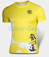 Bruce Lee Gong Fu Cycling Running Jersey Men Costume COSPLAY quick-dry T-shirt