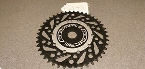 GT OVERDRIVE SPROCKET 33T 36T BLACK OR SILVER CHAINWHEEL BMX BIKE SPROCKETS