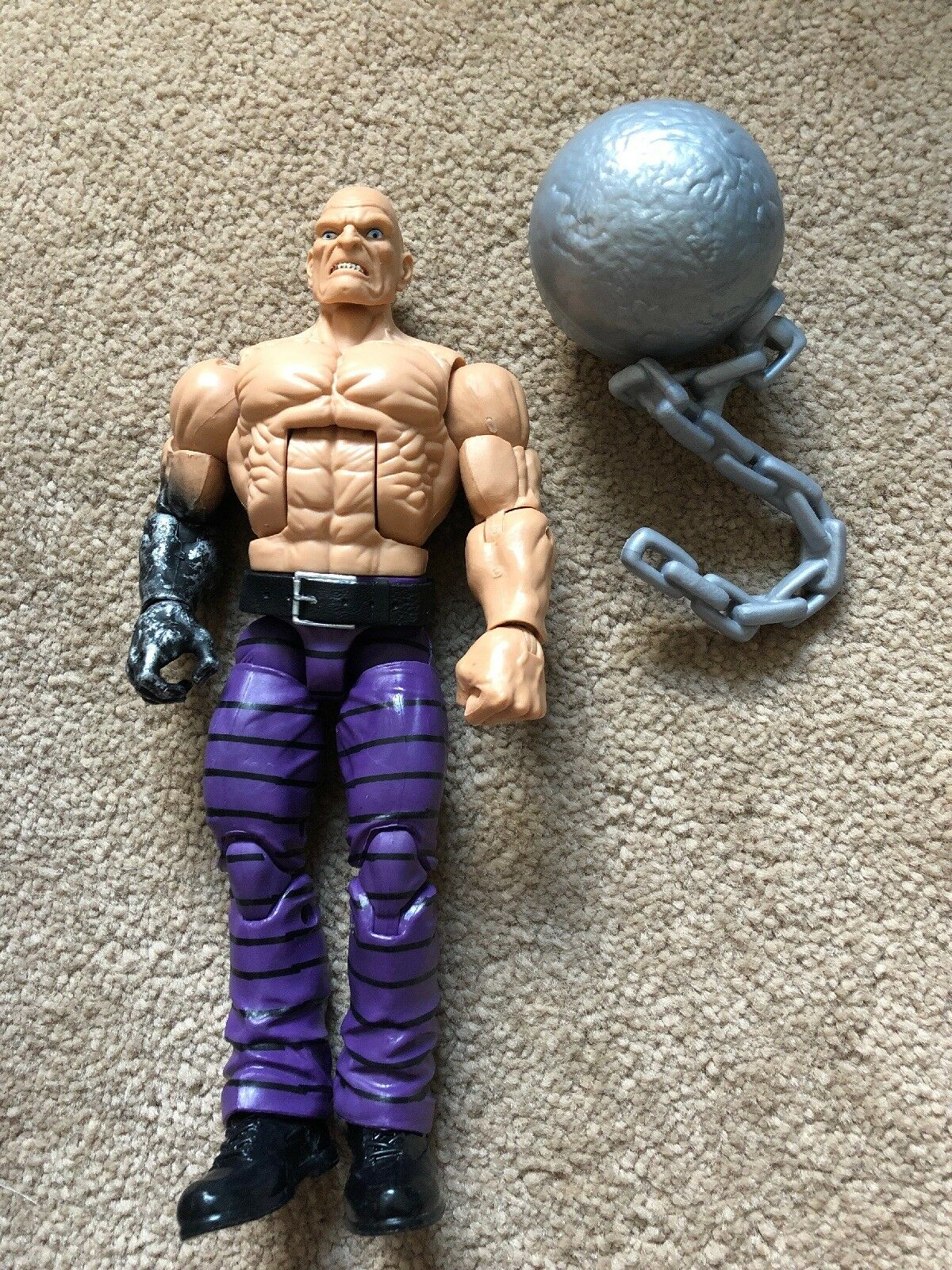 Marvel Legends BAF Absorbing Man Complete Build A Figure Spider-Man