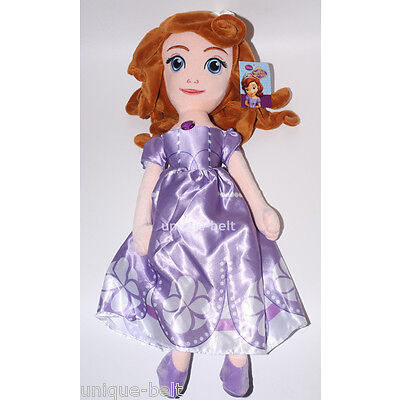 19 inch New Princess Sofia the First figure Plush Toy Stuffed Doll Girls Gift