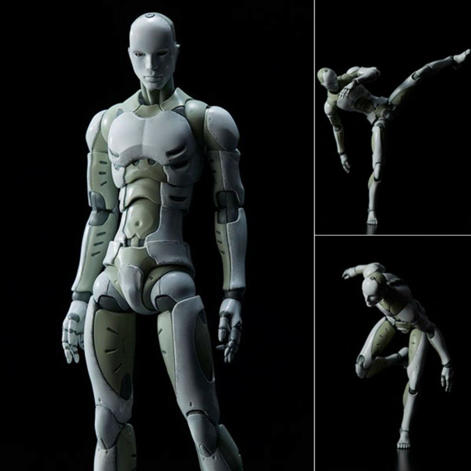 Synthetic Human Action Figure 1/6 Scale Heavy Industries Model Toy Collectible