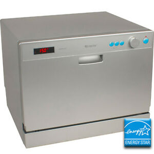 Portable Countertop Dishwasher - EdgeStar Compact Apartment Dish ...