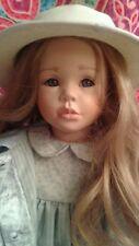 "VIVI ANN by Christel Florchinger. Porcelain Doll. Hand painted. 24"". Very Rare."