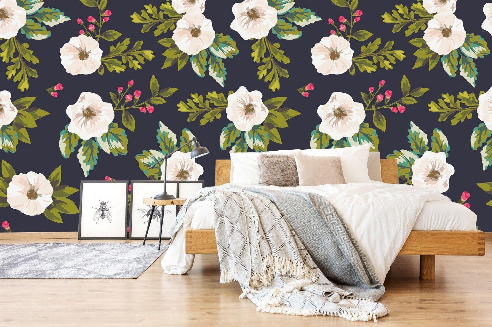 3D Flower Art 7003 Wall Paper Print Wall Decal Deco Indoor Wall Murals US Summer