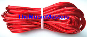 Enjoyable 8 Gauge 20039 Ft Red Auto Primary Wire 12V Car Boat Rv Wiring Hd Wiring Digital Resources Bletukbiperorg