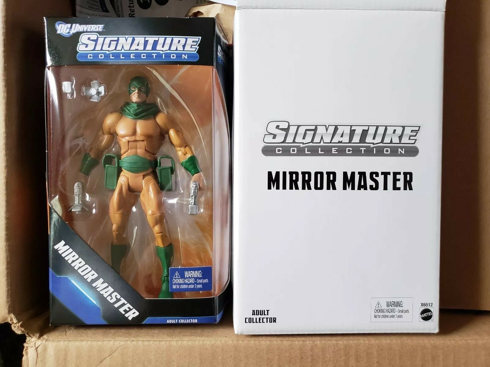 DC Universe Signature Collection MIRROR MASTER Action Figure Mattel
