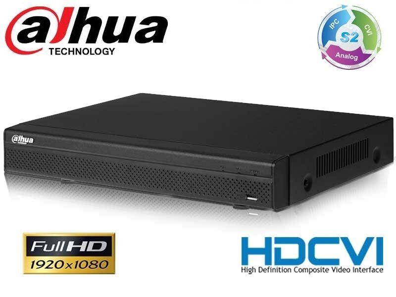 HCVR5104H-S2 NVR   DVR 4 canaux HDCVI   CVBS jusqu'à 1080p