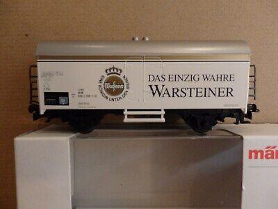 """2019 Moda Märklin 4417 """"carro Di Raffreddamento Warsteiner""""-mostra Il Titolo Originale Modellazione Duratura"""