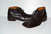 MENS DIEBA VINTAGE BOOTS SHOES GENUINE LEATHER LACE UP BROWN SIZE UK 10 EUR 44