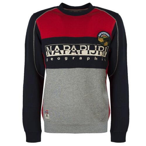 "NP0A4E24R471 Napapijri Sweatshirt /""Bishop C/"" rot"