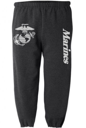 US Marines sweatpants men/'s dark gray USMC sweatpants workout PT tactical gear