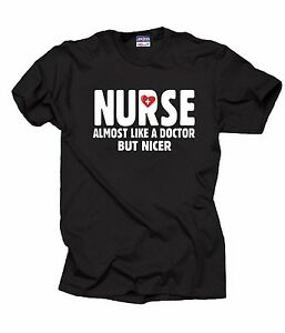 Gift-For-Nurse-T-Shirt-Nurse-Almost-Like-A-Doctor-But-Nicer-Tee-Shirt