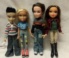 4 x Bratz Dolls Boys and Girls