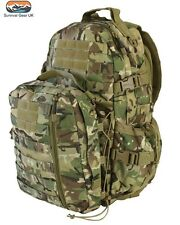 60 LITRE ARMY DEFENDERS PATROL PACK RUCKSACK 3 DAY ASSAULT BAG MTP BTP CLIMBING