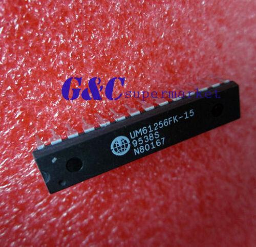 2PCS UM61256FK-15 UM61256FK DIP-28 UMC 32K X 8 BIT HIGH SPEED CMOS SRAM NEW