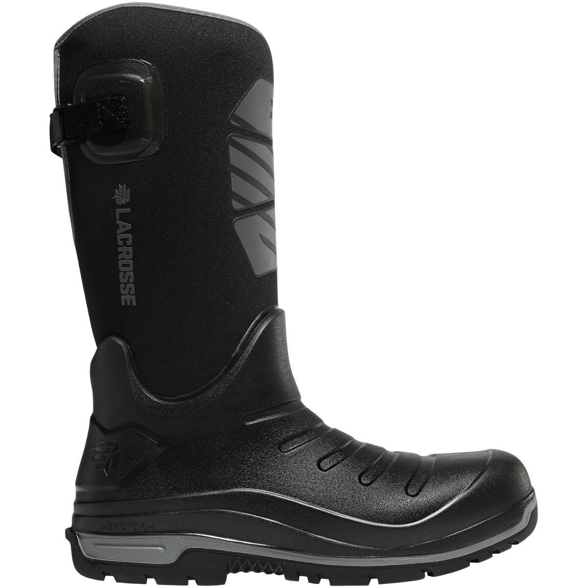 Lacrosse para hombres 664554 Aero Aislador 14  Negro grupo Telefónico Móvil Nórdico Invierno Nieve Calzado botas