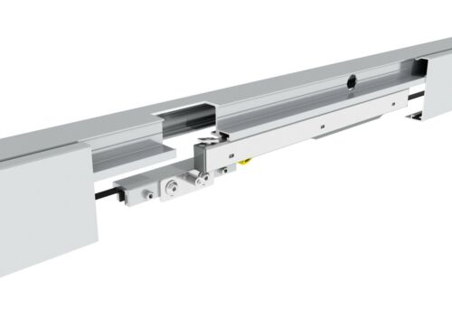 Doppelglasschiebetür ESG 8 mm Levidor Germany rahmenlos Wellen-Design NEU