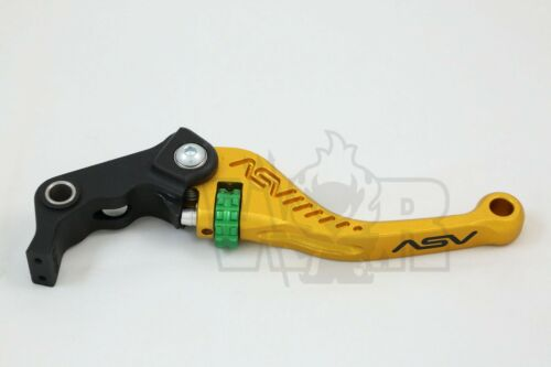 Details about  /Triumph Speed Triple //R//S 2011 12 13 14 15 16 17 18 ASV C5 Lever Set Gold Short