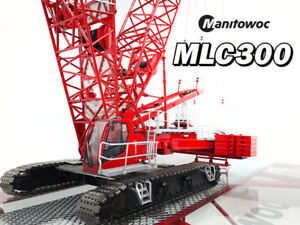 Image is loading Towsleys-Manitowoc-MLC300-Lattice-Boom-Crawler-Crane-with- 3476d36d16a1