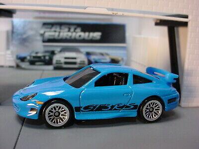 2020 Fast Furious Design Porsche 911 Gt3 Rs Blue Fast Five Loose Hot Wheels Ebay