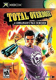Total Overdose: A Gunslinger's Tale in Mexico (Microsoft Xbox, 2005) Disc Only