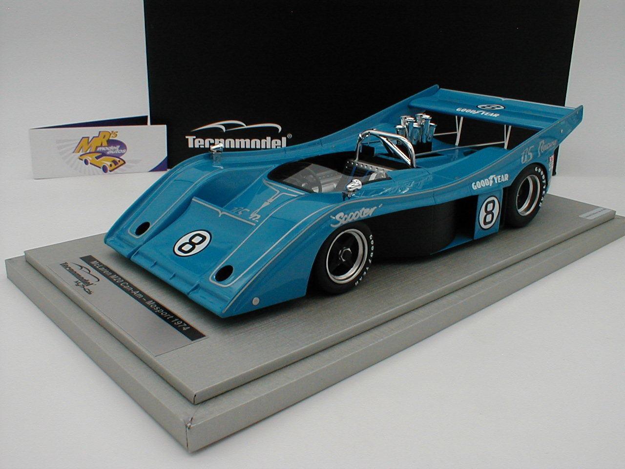 Tecnomodel TM18-57D - McLaren M20 Can-Am Mosport Watkins Glen 1974 No. 8 1 18