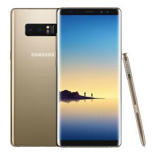 NEUF-SAMSUNG-GALAXY-NOTE-8-N950FD-6-Go-RAM-64-Go-dual-sim-Gold-Garantie-1-an