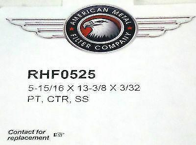 RHF0525 Range Vent Hood Aluminum Filter for GE /& Whirlpool