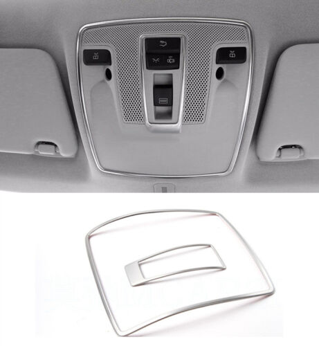 Stainless Steel Reading Lamp Frame Trim For Mercedes Benz GLA X156 CLA 2014-17