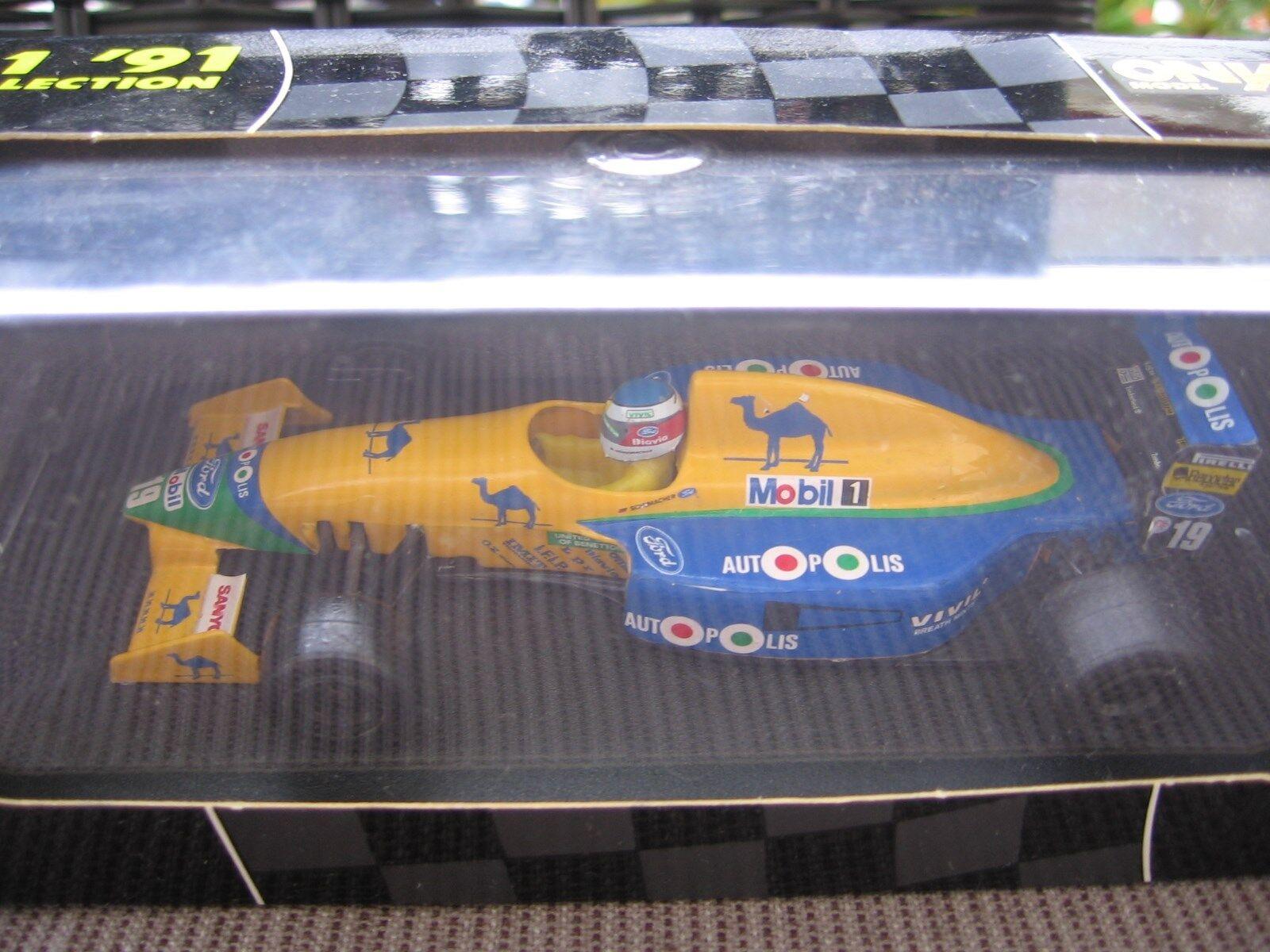 MSC Schumacher F1 Benetton Ford B191 1 43 1991 First Benetton OVP & NEW