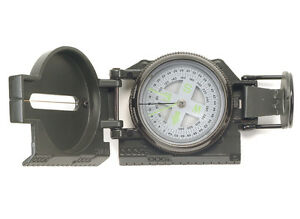 US-Army-Kompass-Ranger-Metallgehaeuse-Armeekompass-Marschkompass-Oliv