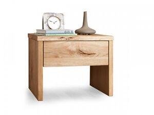 lias nachtkommode nachttisch beistelltisch mit schublade f r bett wildeiche holz ebay. Black Bedroom Furniture Sets. Home Design Ideas