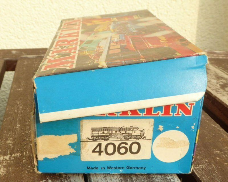Märklin 4060 H0 Emballages Vides,Boîte,Box Santa Fé Dummy Locomotive Diesel Us F