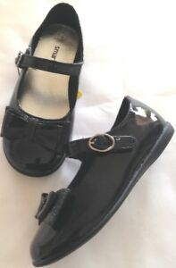 Shoes-dress-toddler-girls-sz-10-5M-EUR-28-new-Smartfit-man-made-materials-black