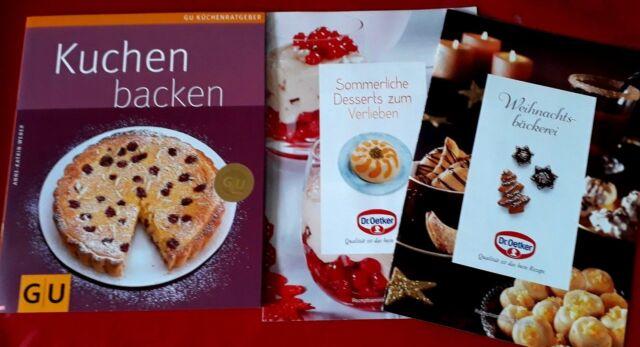 GU Backbuch Kuchen backen inkl. Rezepthefte Dr. Oetker
