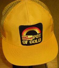 PEPSI CHALLENGE POT OF GOLD VINTAGE 80s Original Snapback hat (MESH SIDES & BACK