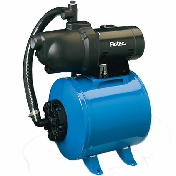 Flotec Fp401215h High Output Shallow Well Pump Jet & Tank System