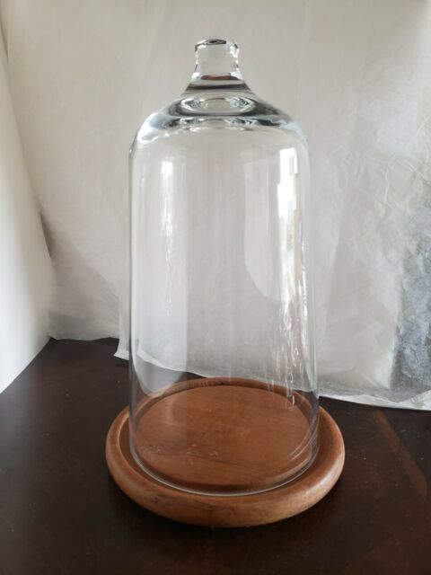 Trento Glass Mini Cloche Cupcake Stand Cake Pedestal Dome Bell Jar Base Dessert For Sale Online Ebay