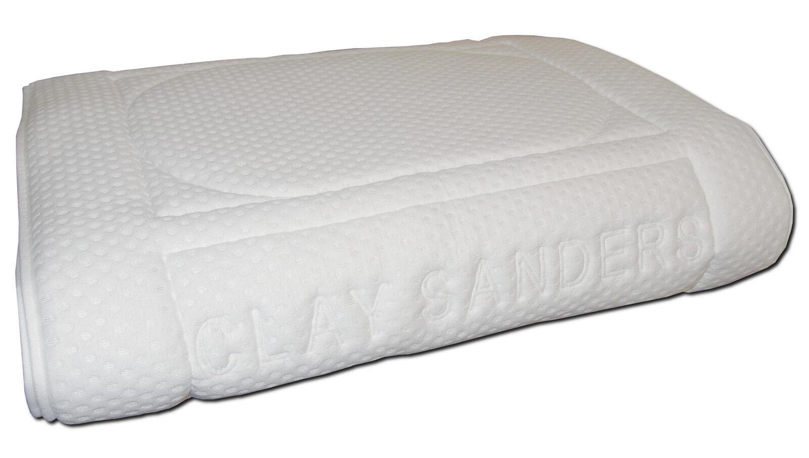 Auflage Bezug Baumwolle für Wasserbetten LUXUSQUALITÄT Clay Sanders Rundumbezug