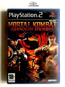 Mortal-Kombat-Shaolin-Monks-PS2-Spa-Neuf-Nouveau-Scelle-Scelle-PLAYSTATION