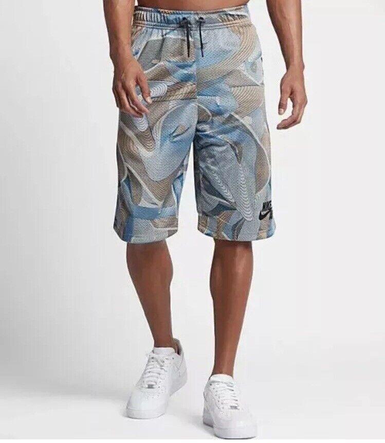 NIKE SPORTSWEAR AIR Basketball Shorts  834137-042 Grey Size M New