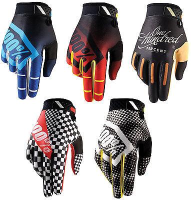 100/% 2019 NEW RIDEFIT guanti Slate MTB DH MX BMX Motocross Enduro