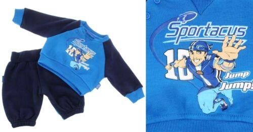 BNWT LAZYTOWN Sportacus Boys Fleece Lined 2pc Jogging Suit//Sweatshirt+Pants 0-3y