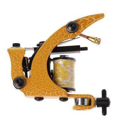 Design Pro Tattoo Machine Gun Shader Liner 8 Wrap Coils For Power Supply  664154564551 | eBay