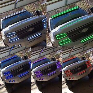 50 52 led color light bar halo rgb multicolor kit jeep chevy ford 50 52 034 034 barra de luz led aloadofball Images